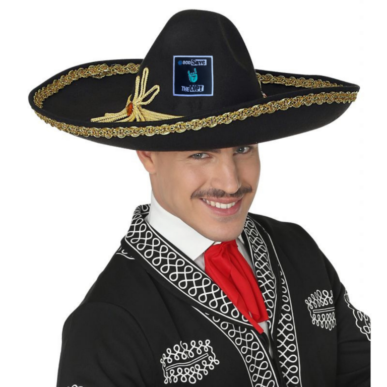 Ideal para sombreros mexicanos.
